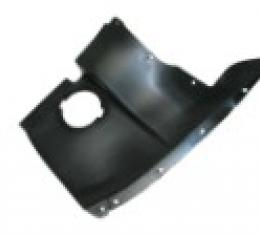 Corvette Front Wheel Well Panel, Except Z06, Right, 2005-2013