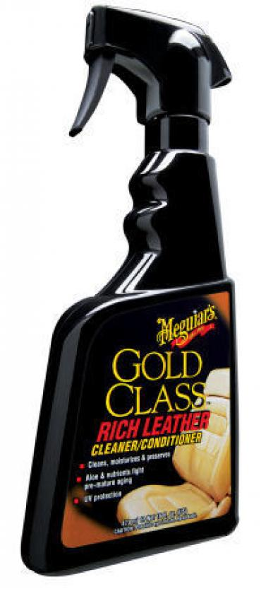 Corvette Gold Class Rich Leather Spray, 16 Ounce