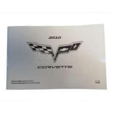 Corvette Owners Manual, 2010