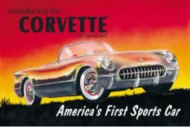 Corvette 53'  Tin Sign