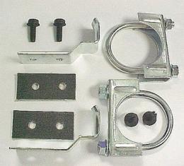 Corvette Center Hanger Kit, 2 Automatic with Dual Exhaust, 1974-1979