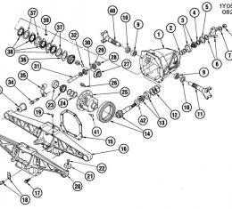 Corvette Differential Pinion Shaft, 14091436, 1984-1996