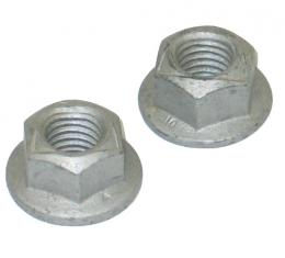 Corvette Exhaust/Fuel System Nut, M10 x 1.5, Set of 2, 1984-2004