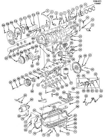 Corvette Engine Oil Cooler Gasket, 1985-1991
