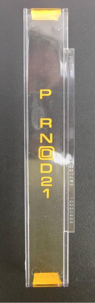 Corvette Automatic Shifter Indicator Lens, 1990-1993