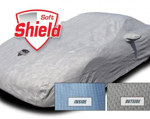 Corvette Car Cover Softshield, with Cable & Lock, 1968-1982