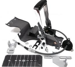 Chevelle Shifter Conversion Kit with Floor Shifter Assembly, 1968-1970 | 4L80E