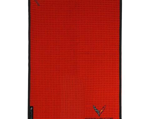 Golf's Finest Microfiber Cart Towel - Next Generation Corvette, Red