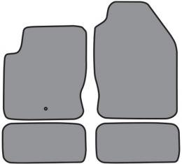 ACC 2000-2007 Ford Focus Floor Mat 4pc (FM192 FM192R) Cutpile
