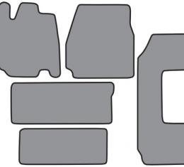 ACC  Ford Windstar 2pc Frts 2pc Rr Runners & Side Door Floor Mat 5pc (FM157 FM157R) Cutpile, 1995-1998