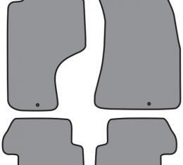 ACC 1989-1998 Nissan 240SX Floor Mat 4pc (A5112 A5112R) Cutpile