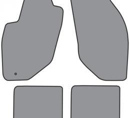 ACC 1998-2002 Lincoln Continental Floor Mat 4pc (A5351F FM18R) Cutpile