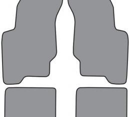 ACC  Oldsmobile Achieva Floor Mat 4pc (FM74F FM18R) Cutpile, 1992-1998