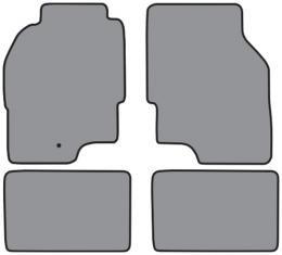 ACC 1995-1999 Dodge Avenger Floor Mat 4pc (FM161 FM161R) Cutpile