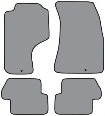 ACC  Nissan 240SX Floor Mat 4pc (A5112 A5112R) Cutpile, 1989-1998