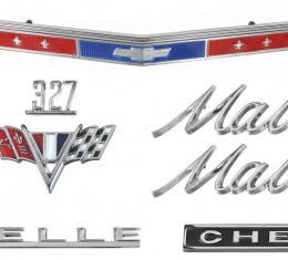 Chevelle And Malibu Emblem Kit, 327, 1967