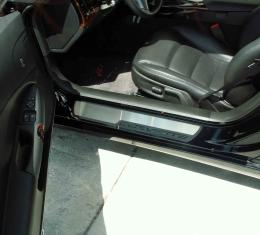 American Car Craft Doorsills Satin Outer Stock Pad Inserts 041017
