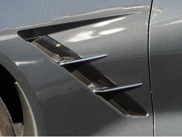 American Car Craft 2014-2019 Chevrolet Corvette Spears Chrome Retro Side 4pc 052010