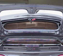 American Car Craft Trunk Lid Polished Convertible 031023