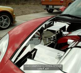 American Car Craft 2005-2013 Chevrolet Corvette Inner Fender Liner Polished Component 8pc 043021