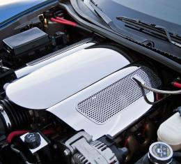 American Car Craft Plenum Cover Polished Low Prof Only with, 043086, 043087, 043088 043089