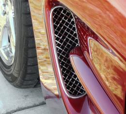 American Car Craft Vent Grilles Laser Mesh Side Vents 032021
