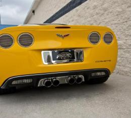 "American Car Craft 2005-2013 Chevrolet Corvette Exhaust Filler Panel Stock Exhaust ""Billet Style"" 042126"