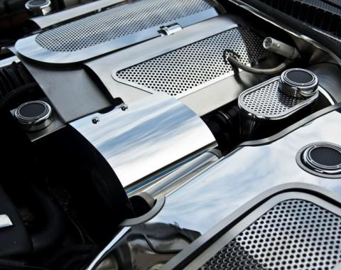 American Car Craft Alternator Cover Polished 033041