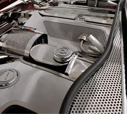 American Car Craft Wiper Cowl Perforated 2pc 033013