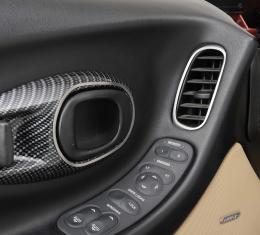 American Car Craft Door Handle Trim Satin 2pc 031038