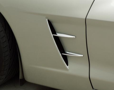 American Car Craft Chevrolet Corvette 2005-2013  Spears Chrome Retro Side 4pc 042116