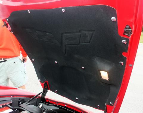 American Car Craft Hood Button Kit Chrome 15pc for hood pad 043003