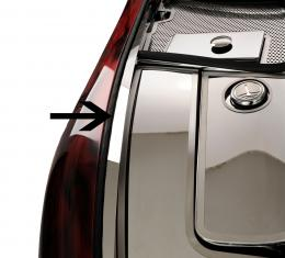 American Car Craft Inner Fender Liners Polished 4pc w/Top Caps 033027