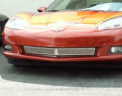 American Car Craft 2005-2013 Chevrolet Corvette Grille Polished Billet Style Front C6 042040