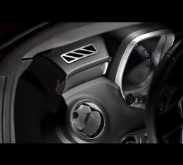 American Car Craft 2010-2015 Chevrolet Camaro A/C Vent Trim Polished Upper Dash 2pc 101010