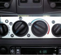American Car Craft 2001-2005 Chrysler PT Cruiser A/C Plate Satin 2pc 711001