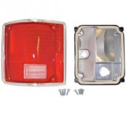 Chevy & GMC Truck Taillight Assembly,Fleetside/Blazer/Suburban/Jimmy, Left, Standard, 1973-1991