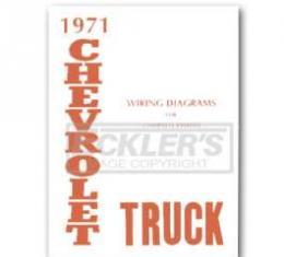 Chevy Truck Wiring Diagram, 1971