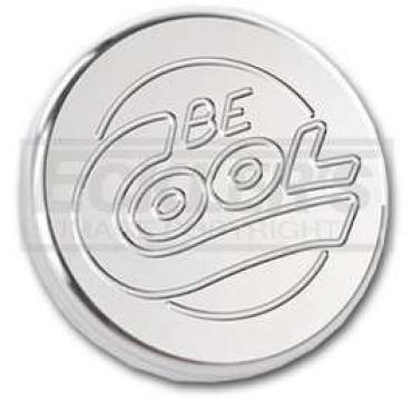 Chevy Or GMC Truck Radiator Cap, 13 Lb, Be Cool, Round Style, Billet, Natural Finish