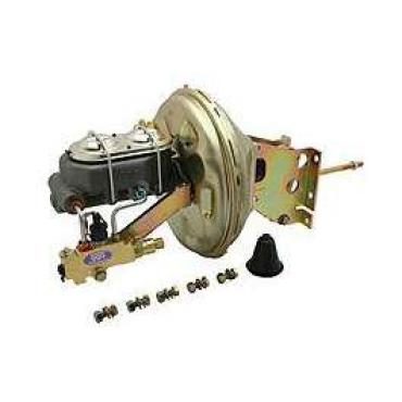 Chevy Truck Front & Rear Disc Power Brake Booster Kit, 1967-1972