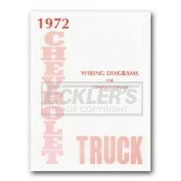 Chevy Truck Wiring Diagram, 1972