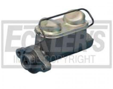 Chevy Truck Non-Power Dual Master Cylinder, Front & Rear Drums, 1947-1966