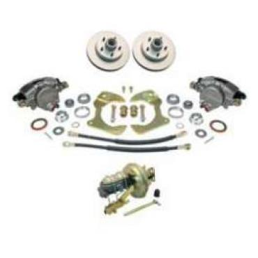 Chevy Truck Power Disc Brake Kit, Front, Complete, 1963-1966
