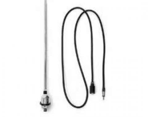 Chevy Truck Antenna, Telescopic, With Lead Wire, 1967-1972