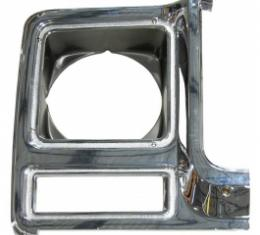 Chevy And GMC Truck Headlight Bezel, Right, 1979-1980