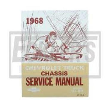 Chevy Truck Shop Manual, 1968