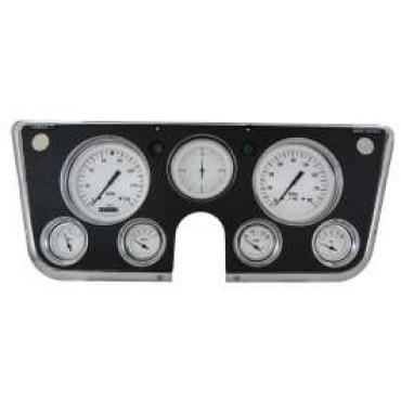 Chevy Truck Gauge Kit, Classic Instruments, White Hot Series, 1967-1972