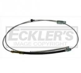 Chevy & GMC Truck Emergency Brake Cable, Rear, Short Bed, 1960-1962