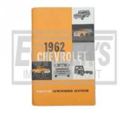Chevy Truck Owner's Manual, 1962
