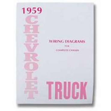 Chevy Truck Wiring Diagram Manual, 1959